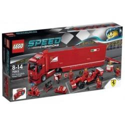 F14 T y Camión de la Escudería Ferrari