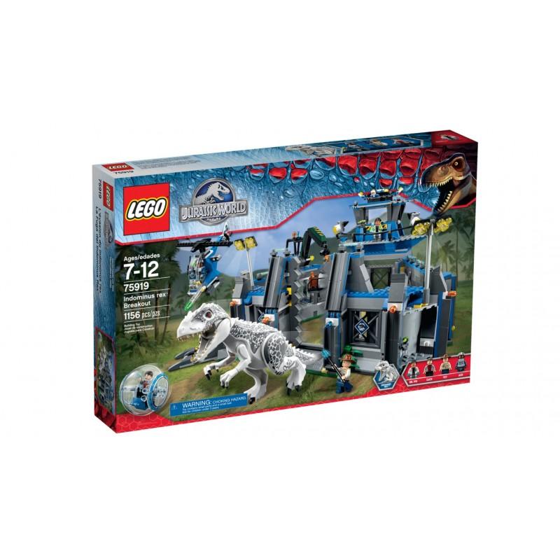 La Fuga del Indominus Rex