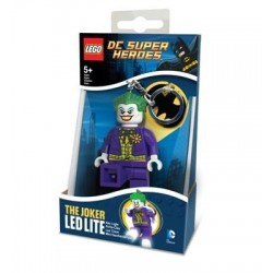 Llavero con linterna del Joker