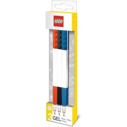 Paquete de 3 Bolígrafos de gel LEGO