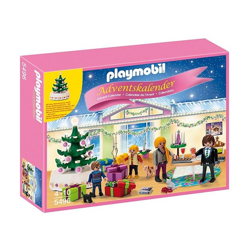 """Calendario de Adviento """"Habitación de Navidad con Árbol iluminado'"""
