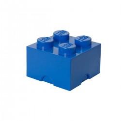 Ladrillo de almacenamiento azul de 4 espigas