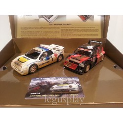 Classic RallyCross Metro 6R4 vs RS200