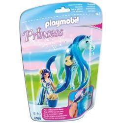 Princesa Luna con Caballo