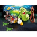Slimer con Stand de Hot Dog