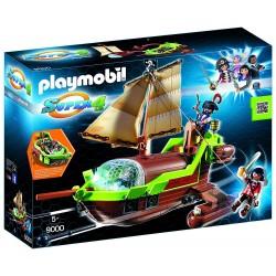 Barco Pirata Camaleón con Ruby