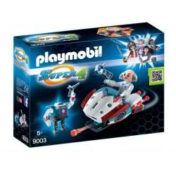 Skyjet con Dr. X y Robot