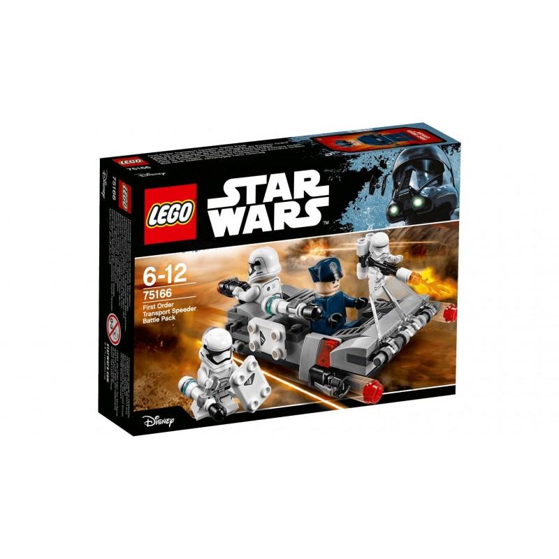 Lego 75166 Pack de Batalla: Deslizador de transporte de la Primera Orden