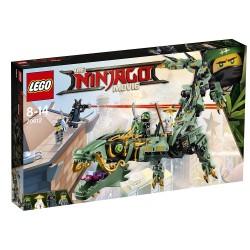 Dragón mecánico del Ninja Verde