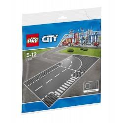 Lego 7281 - Juntas en T y Curvas