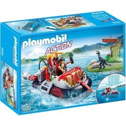 Playmobil 9435 Aerodeslizador con motor submarino
