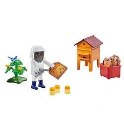 Playmobil 6573 Apicultor con Colmena