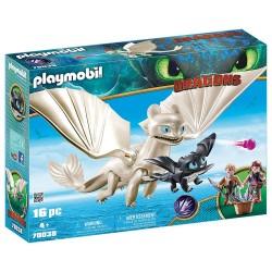 Playmobil 70038 Furia Diurna y Bebé Dragón con Niños