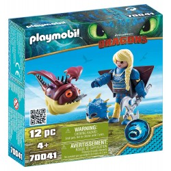 Playmobil 70041 Astrid con GloboGlo
