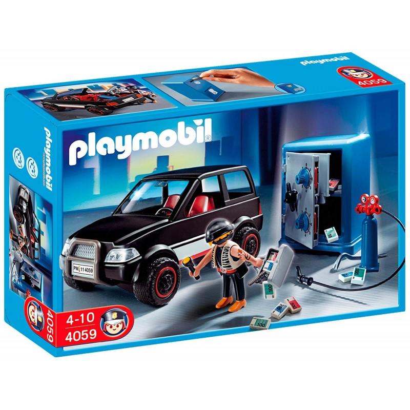 Playmobil 4059 Ladrón de Caja Fuerte con Coche