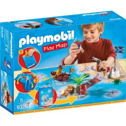 Playmobil 9328 Play Map Piratas