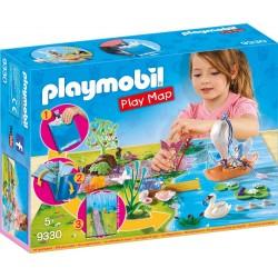 Playmobil 9330 Play Map Hadas de Jardín