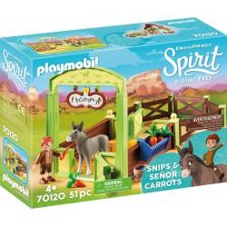 """Playmobil 70120 Establo """"Trasqui y Señor Zanahoria"""""""