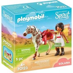 Playmobil 70123 Solana con Caballo