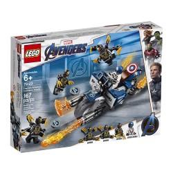 Lego 76123 Capitán América: Ataque de los Outriders