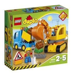 Lego 10812 Camión y excavadora con orugas
