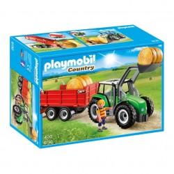 Playmobil 6130 Tractor con Tráiler