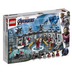 Lego 76125 Iron Man: Sala de Armaduras