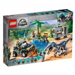 Lego 75935 Encuentro con el Baryonyx: La Caza del Tesoro