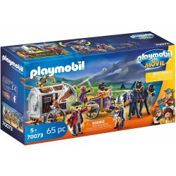 Playmobil 70073 Charlie con Carro Prisión