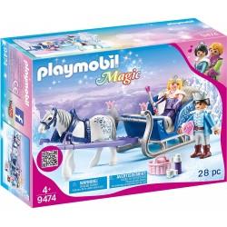 Playmobil 9474 Trineo con Pareja Real