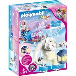 Playmobil 9473 Trol de Nieve con Trineo
