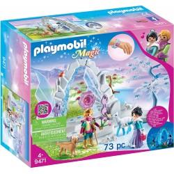 Playmobil 9471 Portal de Cristal al Mundo de Invierno