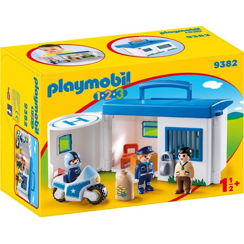 Playmobil 9382 Comisaría Policía Maletín