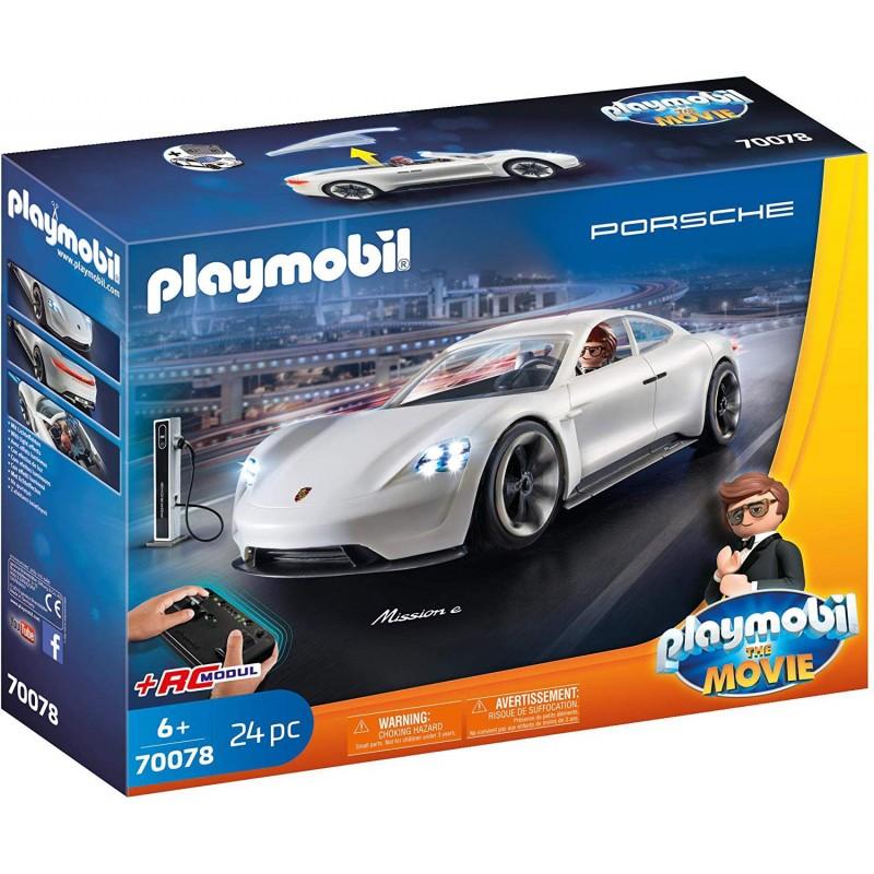 Playmobil 70078 Porsche Mission E y Rex Dasher