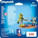 Playmobil 9492 Duo Pack Astronauta y Robot