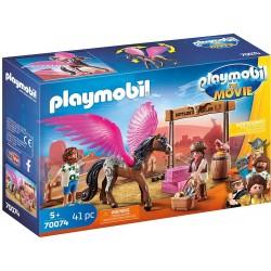 Playmobil 70074 Marla, Del y Caballo con Alas