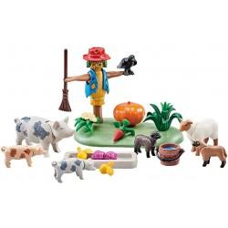 Playmobil 9832 Cerdos y Ovejas