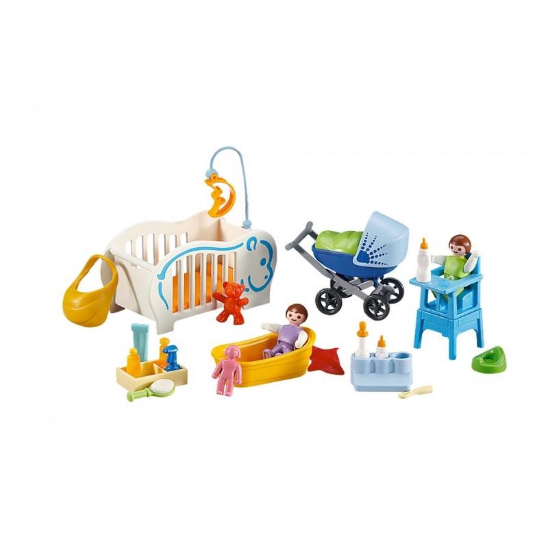 Playmobil 6226 2 Bebés y Complementos para su Cuidado