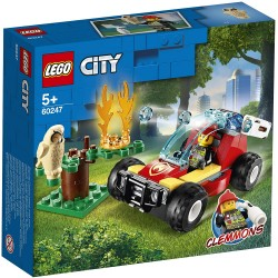 Lego 60247 Incendio en el...