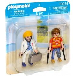 Duo Pack Doctora y Paciente