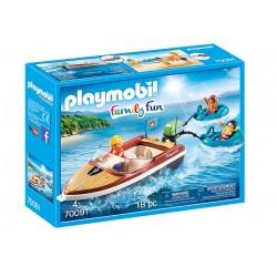 Playmobil 70091 Lancha con...