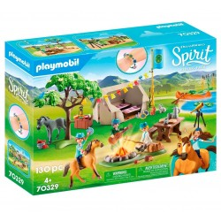 Playmobil 70329  Campamento...