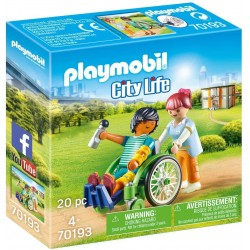 Playmobil 70193 Paciente en...