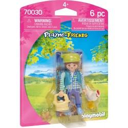 Playmobil 70030 Granjera
