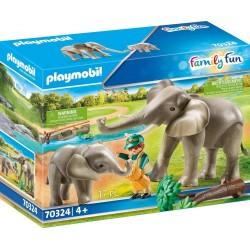 Playmobil 70324 Elefantes...