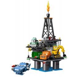 Huida de la plataforma petrolífera
