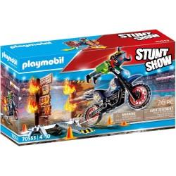 Playmobil 70553 Moto con...