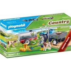 Playmobil 70367 Tractor de...