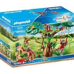 Playmobil 70345 Orangutanes...