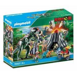 Playmobil 70327 Volcán con...